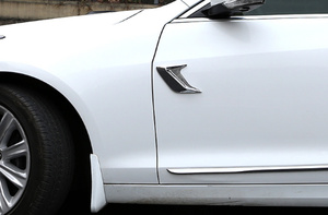 Image 5 - 2 adet araba yan havalandırma simülasyon köpekbalığı solungaçları Sticker dekoratif Hyundai IX35 IX45 Sonata Verna Solaris Elantra Tucson Mistra