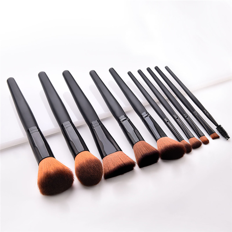 Luxury Fashion Makeup Brushes Set For Foundation Powder Blush Eyeshadow Concealer Lip Eye Make Up Brush Cosmetics Beauty Tools(China)