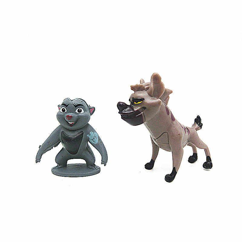 Kion 12 pcs guarda dos desenhos animados the lion king Simba ação PVC figuras boneca kids Brinquedos para crianças para crianças B516