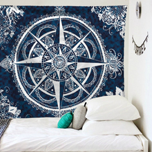 Drop Shipping Indian Mandala Tapestry Wall Hanging Throw Rug Blanket Yoga Mat Home Decor Carpet Cloth Print Bohemian Hippie