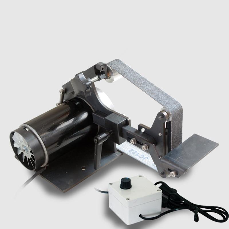 220V Desktop Gürtel Sander DIY Holzbearbeitung Polieren maschine 0-5000/7500RPM 762x25MM Gürtel maschine