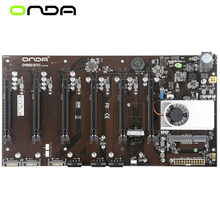 NWE 6GPU 6PCIE 6Video PCI-E per scheda madre Onda D1800 BTC Intel B250 Socket LGA 1151 DDR3 scheda madre Desktop originale
