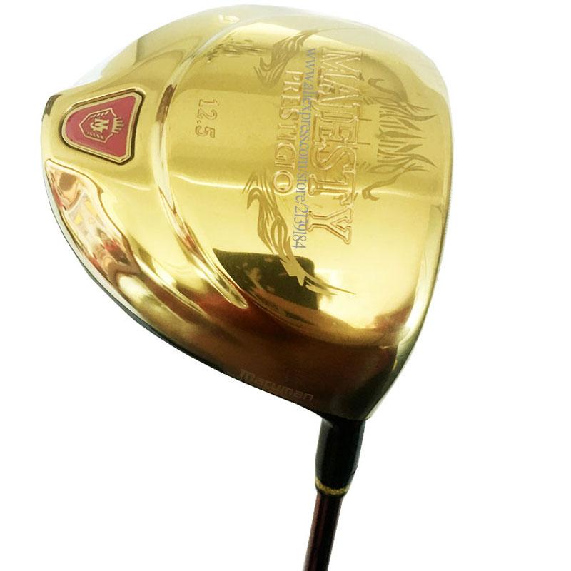 Cooyute New Majesty Golf Driver Majesty Prestigio 9 Golf Clubs 12.5 Loft Clubs Driver Graphite Shaft  L Golf Shaft Free Shipping