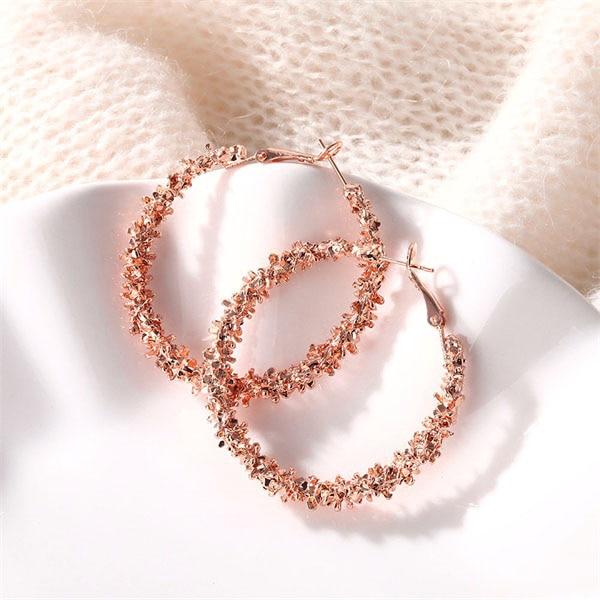 IPARAM, новинка, большие круглые серьги-кольца для женщин, модные, массивные, золотой, в стиле панк, очаровательные серьги, вечерние ювелирные изделия - Окраска металла: ZL0000148-3