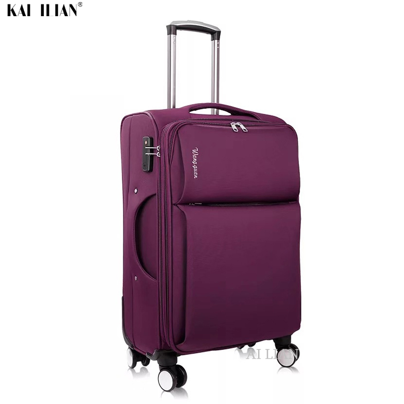 20''28''Oxford Suitcases Spinner Wheels Cabin Travel Luggage Suitcase Men Travel Rolling Luggage Bags Trolley Suitcase Big Bags