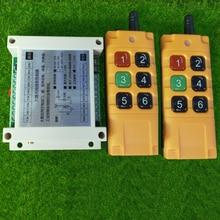 500 2000m DC12V 24V 6CH 6 CH Telecomando Senza Fili HA CONDOTTO LA Luce Interruttore di Uscita A Relè Radio RF trasmettitore E Ricevitore 315/433 MHz