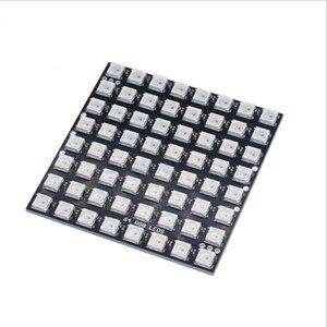 Image 3 - Bande lumineuse RGB led, ruban de lumière adressable individuellement, 8x8, 16x16, 8x32, ws2812b, panneau de Pixels ws2812, 5V