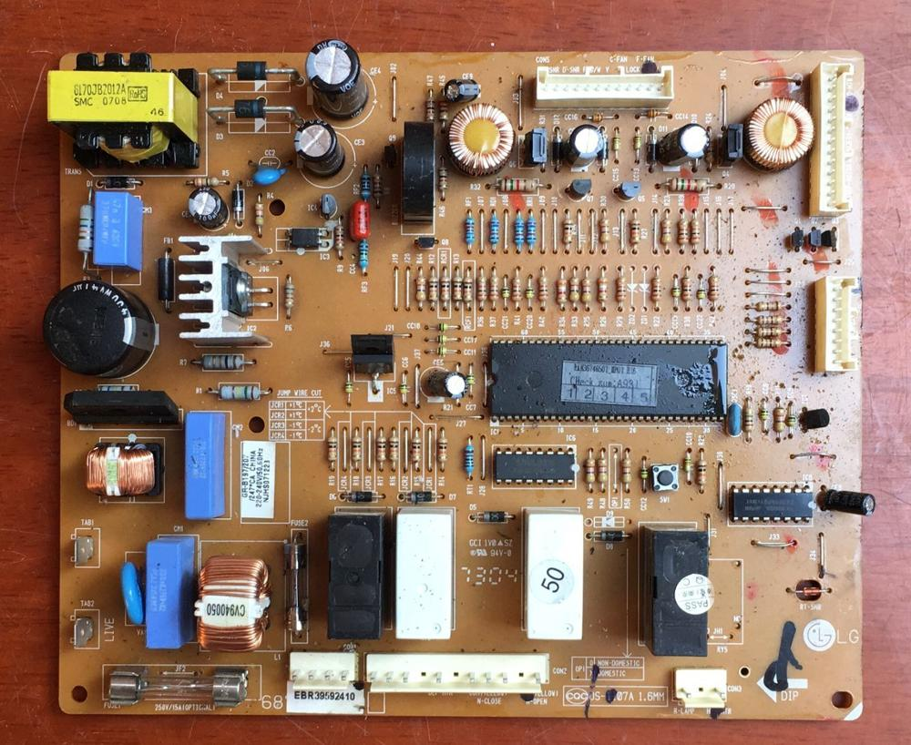 95% New For LG Refrigerator Computer Board Circuit Board GR-B197/207 6870JB8007A EBR39592410 Board Good Working