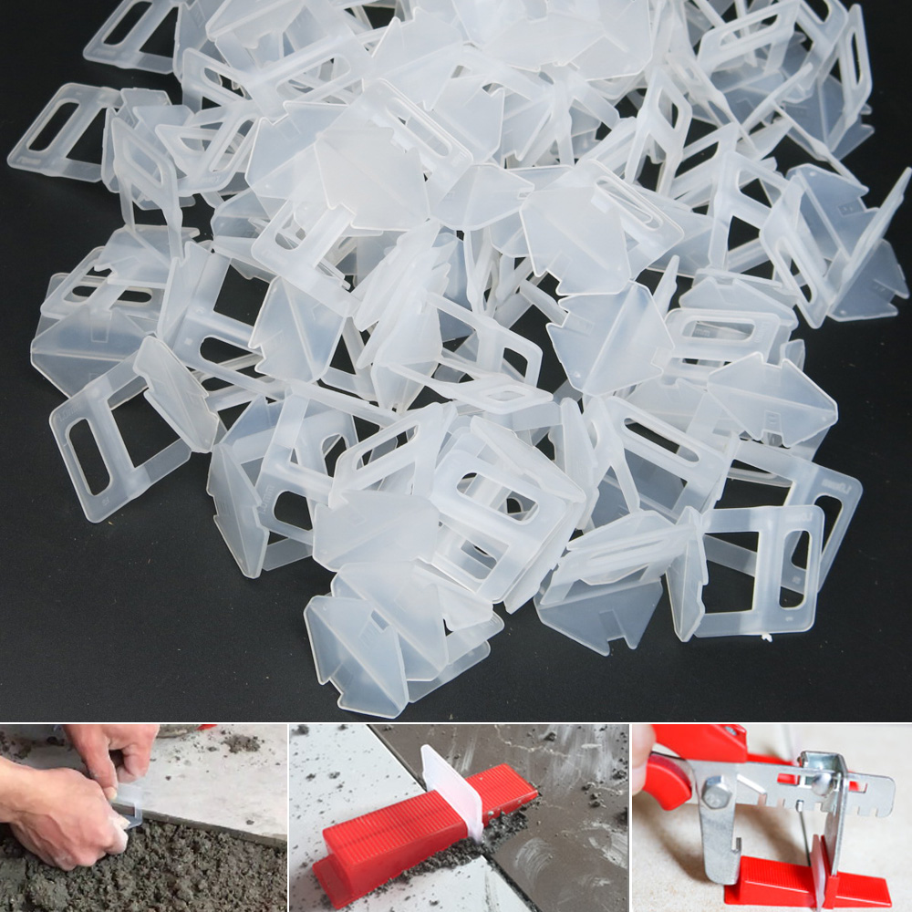 Tile Leveling System 1mm 1.5mm 2mm 3mm Clips Wedges Ceramic Tile Spacer Pliers Tools