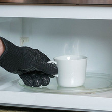 Новинка, 1 пара, перчатки для барбекю, жаростойкие перчатки XOA