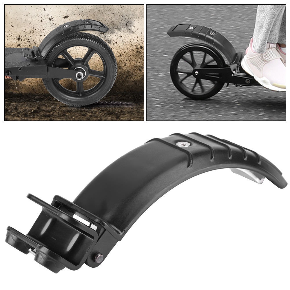 Rear Mudguard Back Fender with Light for JACK HOT JASION Jackhot Electric Scooter Replacement Parts