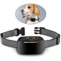 Die Neue Anti-Bellen Kragen 3 Effektive Ausbildung Modi Aufladbare Vibration Wasserdicht Pet Kragen Geeignet Für Alle Hunde