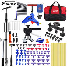 Auto Body Paintless Dent Repair Removal Tool Kits Dent Lifter Bridge Glue Puller Kits with Tool Bag