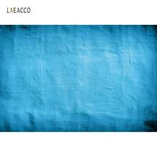 Laeacco Surface Of Wall Gradient Solid Blue Color Texture Doll Pet Love Photography Backgrounds Photo Backdrops For Studio