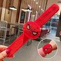 Человек-паук плюшевые домашние тапочки с кошечкой из мультфильма браслет для мальчиков и девочек, забавные подарки на день рождения мягкие ...