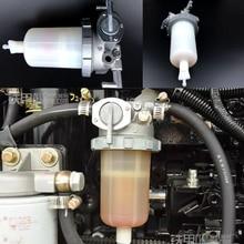 Filtro de óleo água para yanmar 4tnv94/98 doosan DH60 7 DH80 7 conjunto de separador de óleo diesel e água do motor da máquina escavadora