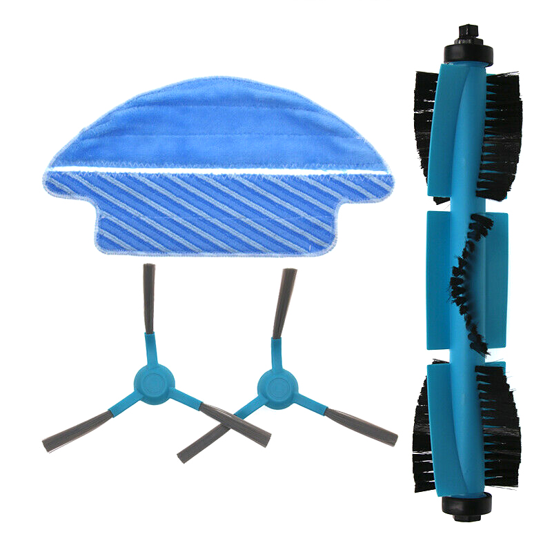 Mop-Cloth-Kit Vacuum-Cleaner Sweeping-Robot HG99 Replacement-Accessories Main-Side-Brush