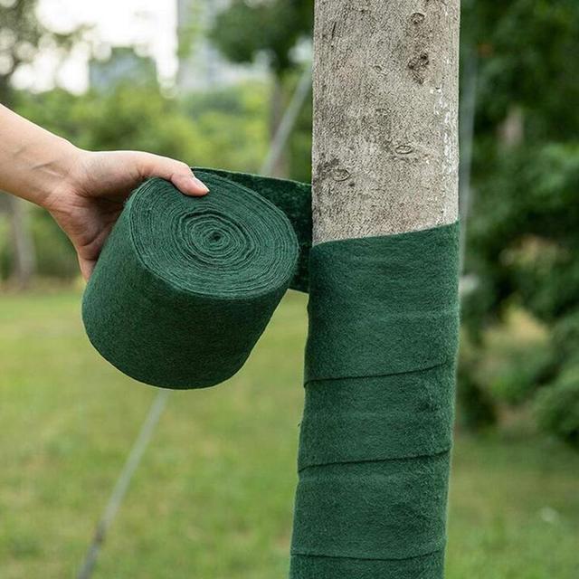 Rouleau darbre pour projets daménagement | Hydratant thermique, résistant au froid et au gel, Bandage pour plantes, tissu darbre, outils de jardin