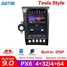안드로이드 9.0 128GB ROM PX6 자동차 dvd 플레이어 GPS 네비게이션 도요타 툰드라 세쿼이아 XK60 2007 2020 헤드 유닛 스테레오 라디오 Carplay