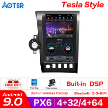 راديو السيارة PX6 ، Android 9.0 ، 128GB ROM ، نظام تحديد المواقع العالمي للملاحة ، مشغل dvd ، ستيريو ، Carplay ، وحدة المعالجة المركزية ، لسيارة Toyota tundra ، citoia ، XK60 (2007 2020)