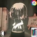 Haikyu! Светодиодный ночсветильник аниме Kozume Kenma, лампа для спальни, декор, светильник для детей, светильник на день рождения, Haikyuu Kenma