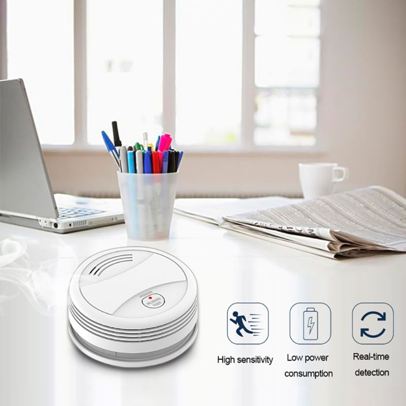 Household Practical WIFI Smoke Detector Home Independent Hotel Intelligent Smoke Alarm