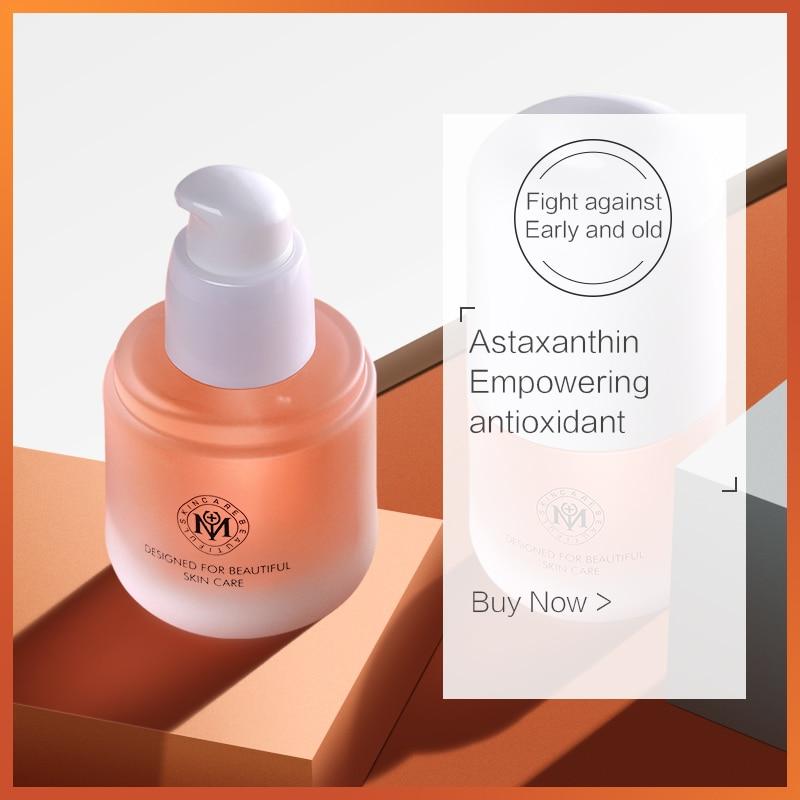 Solución Natural para el cuidado de la piel, esencia de ácido hialurónico, hidratado, asaxantina, antienvejecimiento