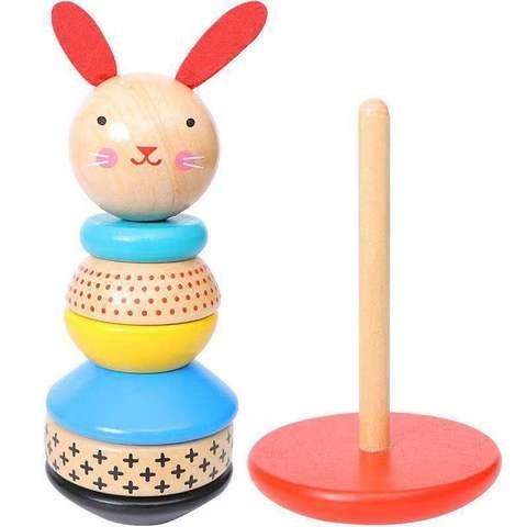 brinquedos bebe arco iris empilhador brinquedos de