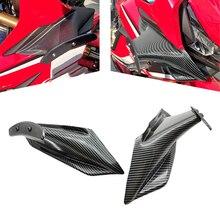 Dla Honda CBR650R CBR 650 R 2019-2020 zestaw skrzydełkowy naprawiono skrzydło skrzydełkowe skrzydło motocyklowe części do owiewek aerodynamicznych