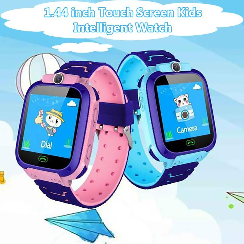 New Kids Watch Child LBS Activity Tracker Baby Sports Waterproof Watch With High-definition Camera For Boy Girl Infantil
