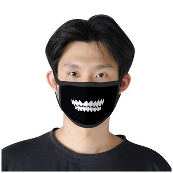 Śmieszne maski Cosplay Unisex usta wielokrotnego użytku maski przeciwkurzowe Kawaii maski przeciwpyłowe PM2 5 filtr maski na usta przebranie na karnawał tanie i dobre opinie Dla dorosłych Kostiumy mascarillas de proteccion mask filter facemask cycling mask bike mask washable Reusable Windproof dustproof sunscreen