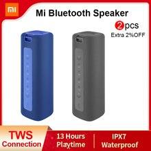 Xiaomi Mi Tragbare Bluetooth Lautsprecher 16W TWS Verbindung Hohe Qualität Sound IPX7 Wasserdicht 13 stunden spielzeit