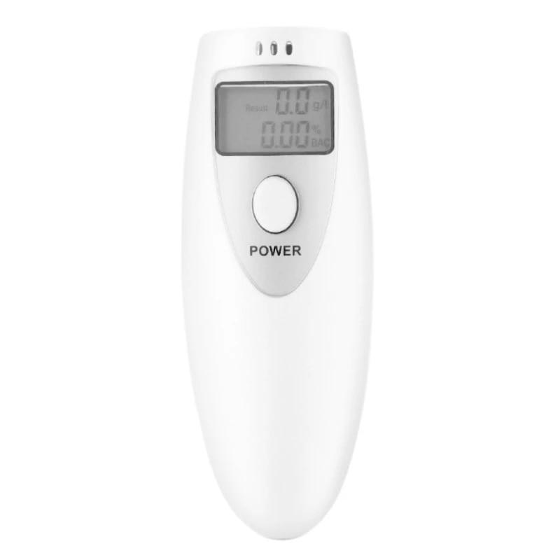 1Pc Portable Digital Alcohol Breath Analyzer Breathalyzer Driver Test Detector
