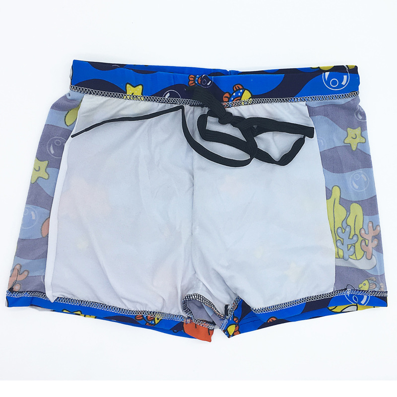 Children Swimming Trunks Summer High Elastic Breathable Quick-Dry Beach Shorts BOY'S Big Kid Swimming Trunks Boxers