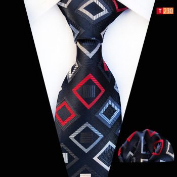 Plaid Paisley Neck Tie Set Ties Pocket Square Gifts For Men Corbatas Para Hombre Corbata Cravate Pour Homme Noeud Papillon Bow