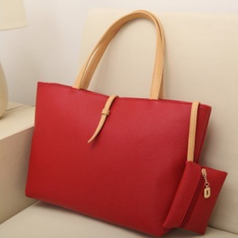 Women Handbag Leather Satchel Shoulder Bag Tote Ladies Zipper Messenger Crossbody Purse Casual PU Leather Satchel Tote Purse Bag