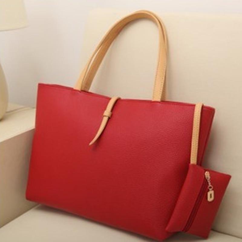 Women Handbag Leather Satchel Shoulder Bag Tote Ladies Zipper Messenger Crossbody Purse Casual PU Leather Satchel Tote Purse Bag