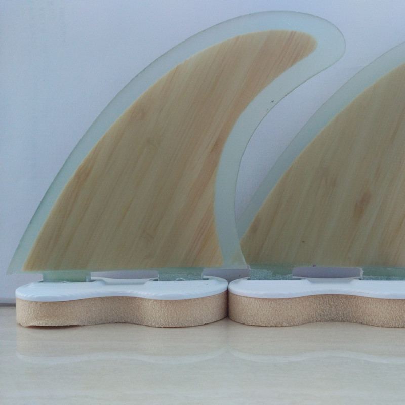 Купить с кэшбэком Surf Fin FCS G5 Bamboo Fibreglass Fins FCS Fins Surf Fin  thruster Fins upsurf surfboard prancha de surf