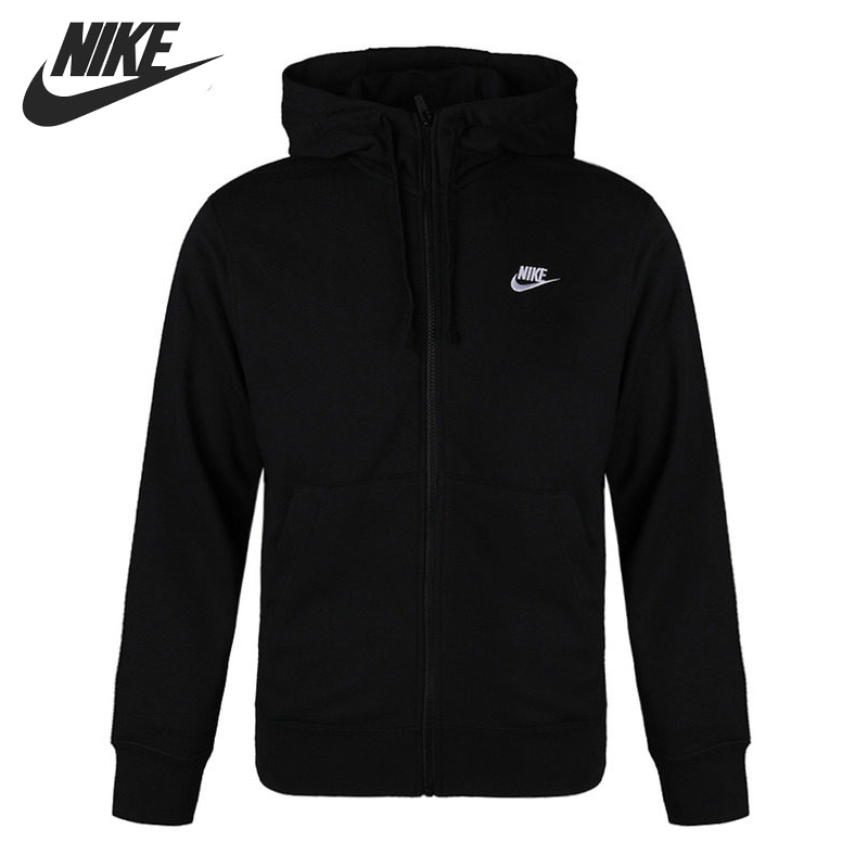 Original New Arrival NIKE M NSW CLUB HOODIE FZ FT Men's Jacket Hooded Sportswear