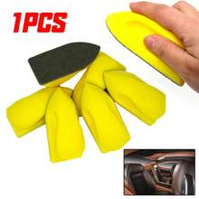1x уход за автомобильным кожаным сиденьем, чистящая нано-щетка для очистки салона автомобиля, чистящие нано-щетки, аксессуары, губчатые накл...