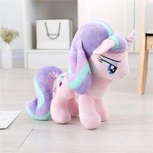 Toys Plush-Doll Unicorn Stuffed Animals Starlight Kids PP Cotton 30CM Brinquedos Glimmer