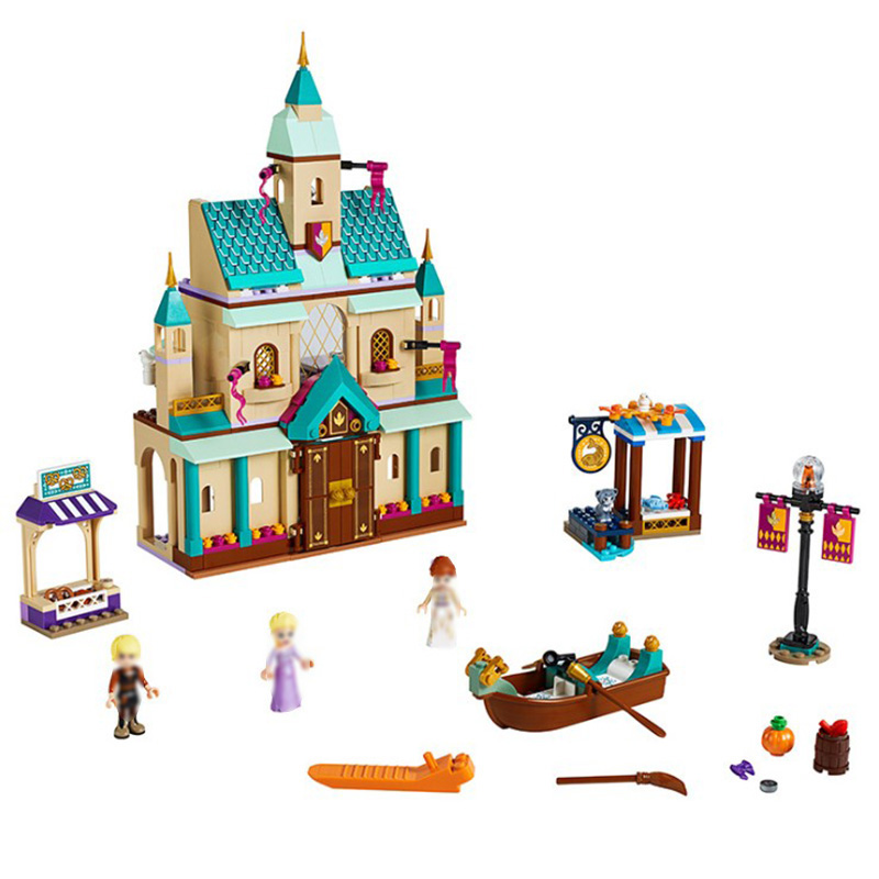 Frozen 2 Arendale Castle Village Good friend series Building Blocks Toy Compatible Lepined Friends City Bricks Toys For Children image