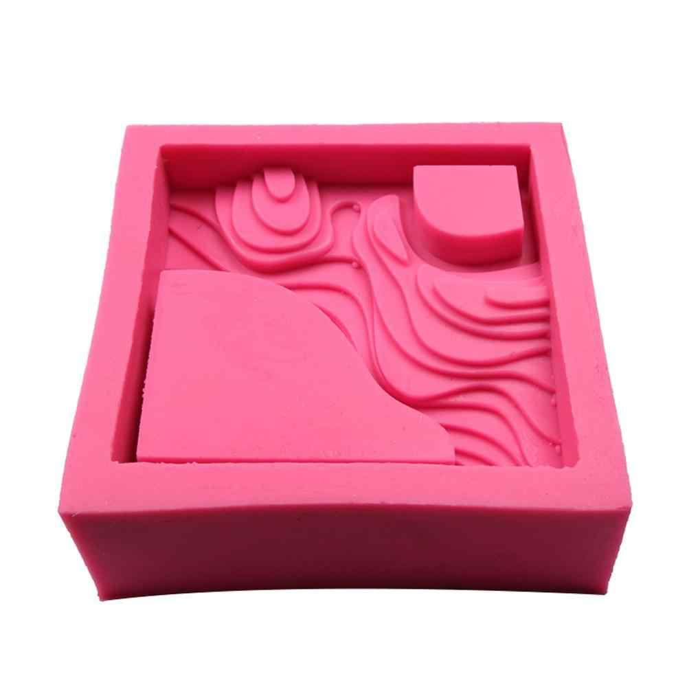 Diy molde de silicone pote de flor concreto molde de cimento suculento planta vasos moldes manual argila artesanato decoração para casa