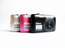 GEBRUIKT NIKON COOLPIX S3100 Camera 14.0MP Digitale Camera CCD 1280x720 5X f/3.2-6.5