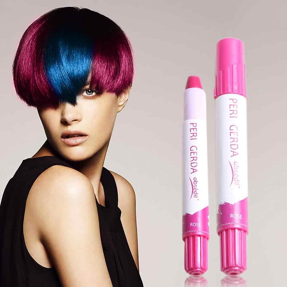 Hot Professional Disposable ชั่วคราวเปลี่ยนสีผมสีย้อมสี Crayon ปากกาชอล์กผมสีผม Care & Styling