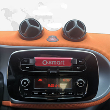 For Smart 451 453 fortwo forfour Car Phone Holder Stand For Phone in Car Air Vent GPS No Magnetic Gravity Mobile Phone Holder