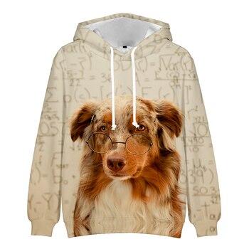 new fall men hoodie 3d a fierce wolf print pullover casual long sleeve hoodie men women harajuku street hooded sweatshirt Men Women Dog 3D Print Hoodie Fashion Harajuku Sweatshirt 3D Hoodie Long Sleeve Street Casual T-shirt Oversized Hooded Tops