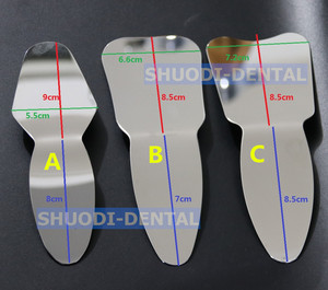 Image 2 - Dental Orthodontic Teeth Whitening Autoclavable Dental Oral Photographic Mirror Reflector Double Side Dental Teeth Check Tool