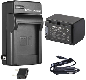 Battery Pack + Charger for Sony NP-FV70, NPFV70, NP-FV70A, NPFV70A InfoLithium V Series