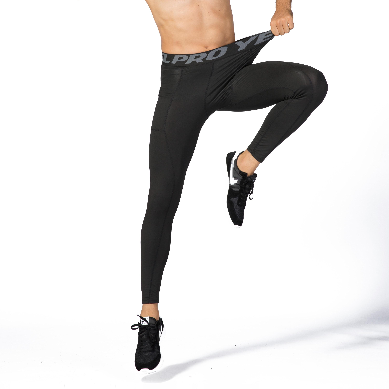 Men/'s Skinny Leggings Compression Jogging Running Pants Sports Trainers Pants GE